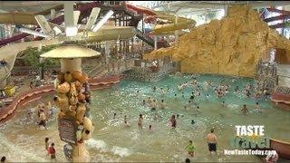 The Largest Indoor Water Park: Kalahari Resort - Wisconsin Dells!!