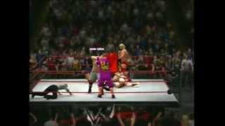 Randy Orton Vs Daniel Bryan Vs John Cena Vs Sheamus Vs Brock Lesnar Vs Dolph Ziggler