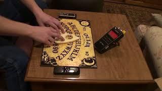 Ouija board session-got a rem hit on mel meter
