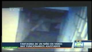 Κολομβία 2013. Βίντεο με φαντάσματα όπως μεταδόθηκε από το δελτίο ειδήσεων.
