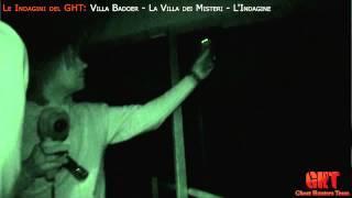 GHT - Indagine Villa Badoer Fratta Polesine - Rovigo - I Risultati