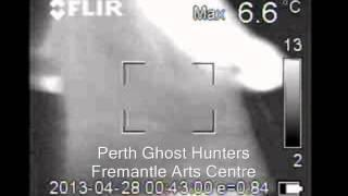 Ghost EVP voice on stairs 'Thats Precious' Fremantle Arts Centre