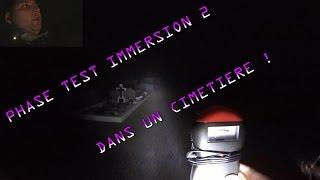 EXPLORER UN CIMETIÈRE #2 (Chasseur de Fantômes) Lieu hanté - Exploration nocturne