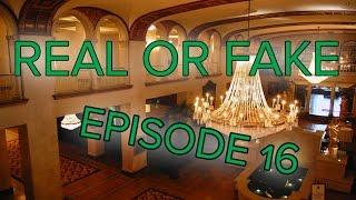 Real or Fake Episode 16 Special Guest: Cameron Daboin