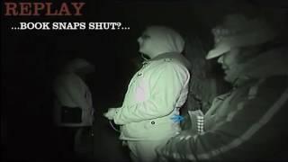 THE BOOK SNAPS SHUT filmed 12/12/14 dark knights paranormal