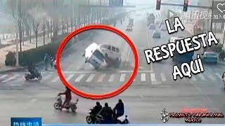 Autos son Levantados por una Extraña Fuerza Invisible en China - LA RESPUESTA AQUÍ