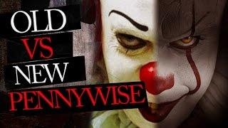 Old VS New Pennywise - Tim Curry VS Bill Skarsgard Analysis and Costumes of IT 2017