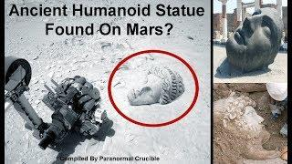 Ancient Humanoid Statue Found On Mars?