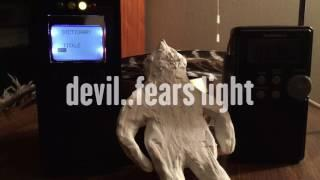 """Devil fears light"" 12-587 spirit box session, shack hack"