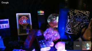 Pendulum, Ouija board, EVPs, DOLLs, Rusty Reporter Card Reading, PERRY Ghost Boxing