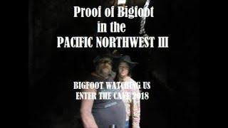 Proof of Bigfoot In The Pacific Northwest III: Bigfoot Watching Us Enter The Cave 2018