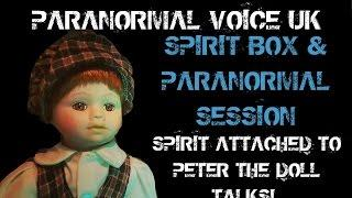 PARANORMAL VOICE | HAUNTED DOLL | SPIRIT BOX & PARANORMAL SESSION | LIVE STREAM