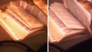 "Ghost Moves Bible Pages Inside Haunted Seattle ""Demon House"""