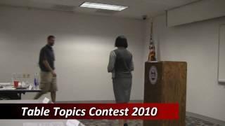 Toastmasters Table Topics Contest - Original Impromptu Speaking