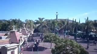 Disneyland Monorail ride, part:2
