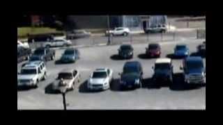Columna de viento fantasmal daña un coche de policía en Connecticut