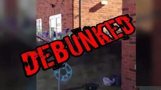 Poltergeist Violently Shaking Washing Line In Back Garden Debunked