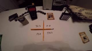 Charlie Charlie Challenge Investigated with Spirit Box Creepy Pasta Dangerous Games
