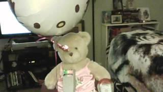 Nicole's Vlogs; mylar balloon with Spirit Box test.