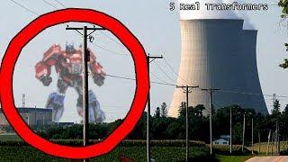 TOP 5 TRANSFORMERS CAUGHT ON CAMERA & SPOTTED IN REAL LIFE!
