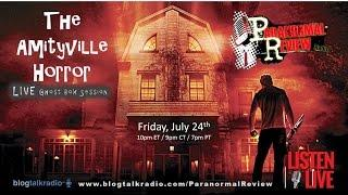 Paranormal Review radio: Amityville Horror Ghost Box Session