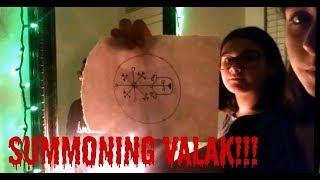 Summoning Valak!!! The REAL NUN Demon!!! Chilling!