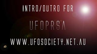 UFO SCI-FI INTRO/OUTRO for UFO & Paranormal Research Society of Australia