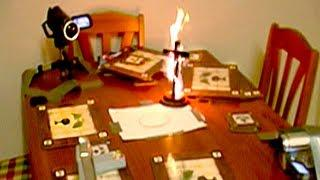 Scary Halloween Ouija Board