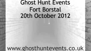 Fort Borstal, Rochester, Kent - Real ghost voice EVP