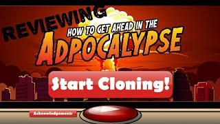 Reviewing The New Adpocalypse Game