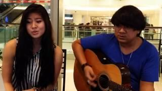 Elizabeth & Amir Jahari - Yellow (Acoustic Cover)