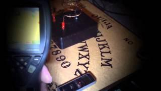 PEP clear spooky EVPs from Tesla radio with Ouija board and thermal camera