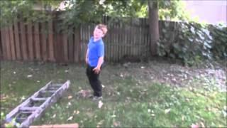 REAL Slenderman Sighting Caught On Tape | Slender Man Stalks Small Child 2016