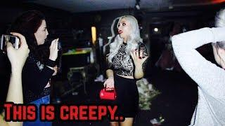There is a dark presence in the haunted hotel basement.. (SO CREEPY!!)