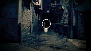 What Is It?? A Ghost Mysterious Black Shadow Ghost Caught On Camera