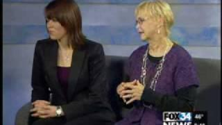 Talk about Ghost Hunting!  Patti Starr and Lindsey Ashcraft on FOX 34.....WTPIS