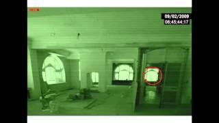 Extraña sombra en investigacion de casa abandonada
