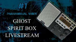 Ghost / Spirit Box #1 | LIVE | Ask Spirit Your Questions