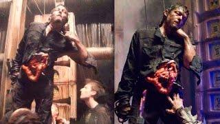 Daryl Dixon Mu3re en The Walking Dead - Análisis