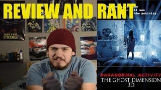 Paranormal Activity The Ghost Dimension #Horror Review!