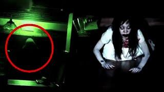 Mysterious Ghostly Figure Caught on Camera !! Real Ghost Scary Video Compilation 2018