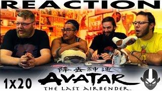 "Avatar: The Last Airbender 1x20 REACTION!! ""The Siege of the North Part 2"""