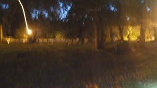HAUNTED AND SCARY CEMETERY AT NIGHT (SPIRITS SCARED US OFF) !
