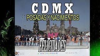 Actividades decembrinas CDMX, Origen de las posadas