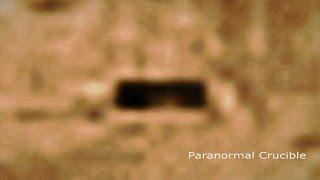 Bunker Or Hanger Door Found On Mars
