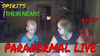 PARANORMAL LIVE (SPIRIT COMMUNICATION WITH SPIRIT BOX)!!