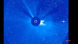 Gran eyección de masa coronaria solar, Large solar flare, 2011/06/07