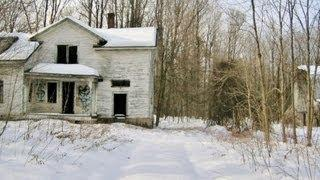 The Haunted Property Located in the Hamlet of Cooks Corners, Town of Bangor, Upstate New York