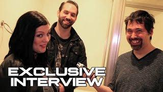 Nick Groff & Katrina Weidman Interview - PARNORMAL LOCKDOWN (JoBlo.com Exclusive)