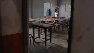 Child Ghost Captured On Mobile From My Classroom!! Paranormal Activity Caught On Video!!
